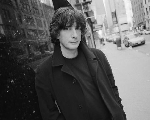 Neil Gaiman's author photograph