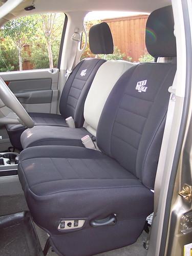 Wet Okole Seat Covers Installed 2006 Megacab Dodge Cummins Diesel Forum
