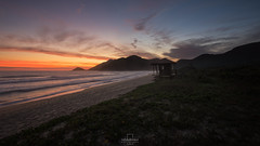 Sunset @Grumari Beach, Rio de Janeiro, Brazil (rafa bahiense) Tags: 500px brazil carioca d610 d7000 nikkor nikon rafabahiense rio2016 rio450anos riodejaneiro southamerica wonderfulcity beautiful black blue colour dark discover explore flickr green landscape light orange photo photography pink red relax shadow stunning sun sunlight therapy travel white wonderful yellow beach sunset sunrise colors shadows nature happy lovely peaceful relaxing waves ocean