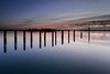 Cold and Still (Sunset Snapper) Tags: coldandstill sunset bosham westsussex southcoast uk creek posts quay reflections still calm tranquil serene harbour filter lee nd grad nikon d810 2470mm january 2016 sunsetsnapper