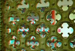 Royal Delft 3D (wim hoppenbrouwers) Tags: royal delft 3d tiles anaglyph stereo redcyan royaldelft deporceleynefles delft3d