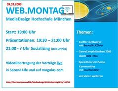 Webmontag in der MD.H