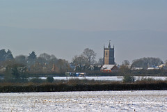 Chipping Sodbury in snow (angry_cellist) Tags: snow church chipping sodbury