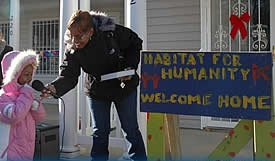 welcome home (by: DC Habitat for Humanity)
