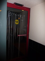 (theres no way home) Tags: door chicago glass graffiti smeer smeero acidburb
