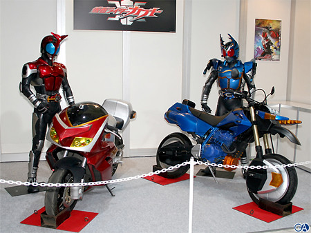 Kamen Rider Kabuto is the Kamen Rider show that