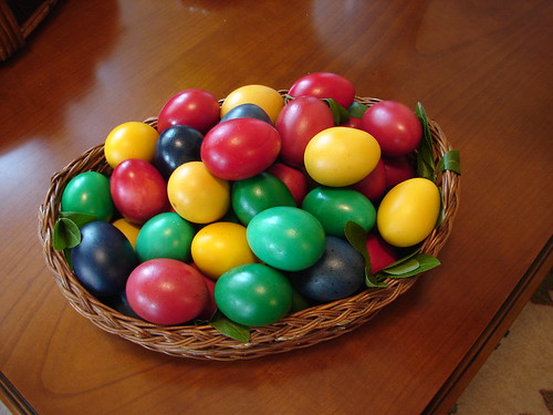 Eastern eggs in Bucarest