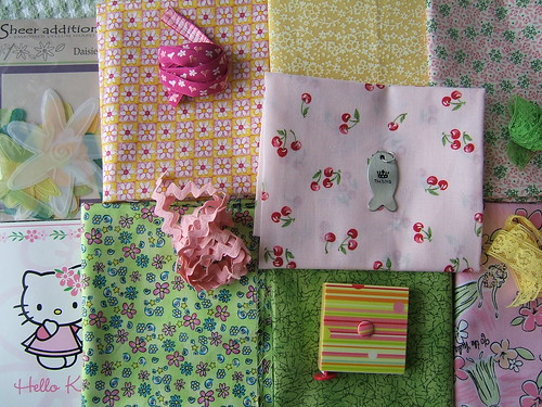 April fabric swap