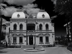City Hall (*Rx*) Tags: city bw hall romania rx campina