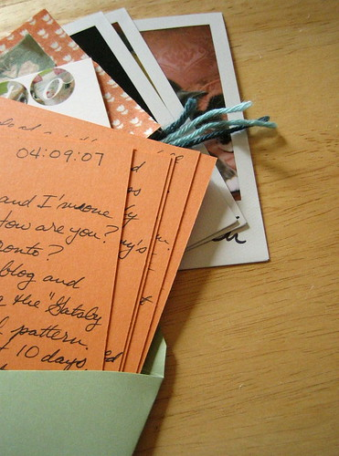knitterly letter swap