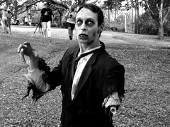 Armless Zombies? (Felix42 contra la censura) Tags: bw march scary zombie walk brisbane undead upcoming 2007 livingdead flickrites upcoming:event=165886