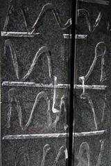 Hierogluephics (Igor Clark) Tags: madrid espaa spain glue stick hieroglyphics madrd madridmarch2007 madrdmarzo2007