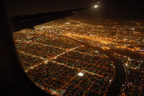 Approaching LAX