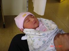 Baby Kaila, April 12 2007 001