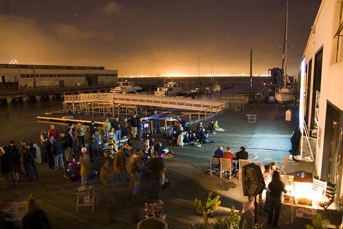 NewTeeVee Screenings at the Pier