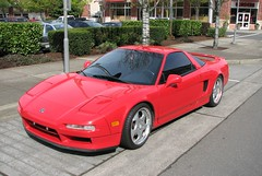 Acura NSX (Stones 55) Tags: red car washington automobile redmond acura nsx sportscar redmondtowncenter kingcounty acuransx