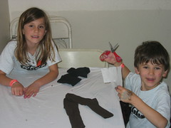 Making Sock Monkeys