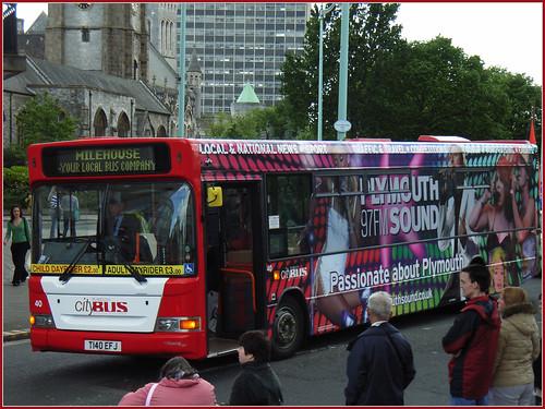 Plymouth Citybus 040 T140EFJ