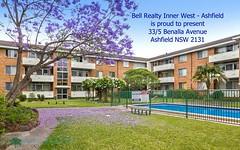 33/5 Benalla Avenue, Ashfield NSW