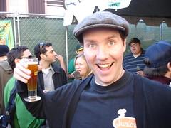 Dan, with Beer