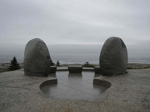 Memorial to the Passengers Swiss Air Flight 111.