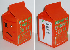 Drunken Carrot Juice carton