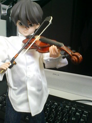 Heero With A Fiddle