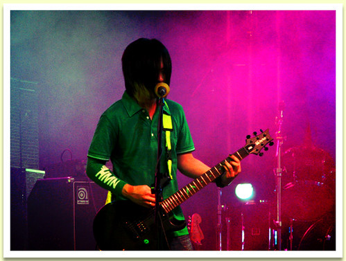 Mike At The Guitar - Rivermaya