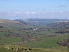 Looking down on Colmonell from Knockdolian Hill (darrenl73) Tags: scotland ayrshire colmonell knockdolian