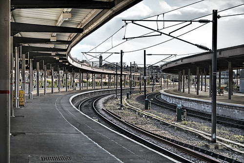 york train station - england, uk | Flickr - Photo Sharing!