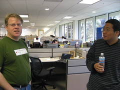 Scoble and Chris Yeh, Founder of UStream at PodTech
