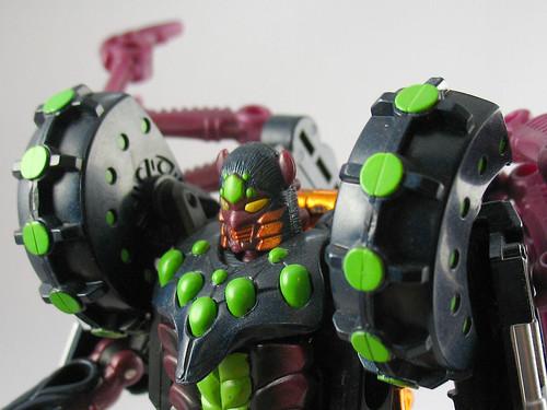 Beast Wars Transmetal 2 Tarantulus (close-up)