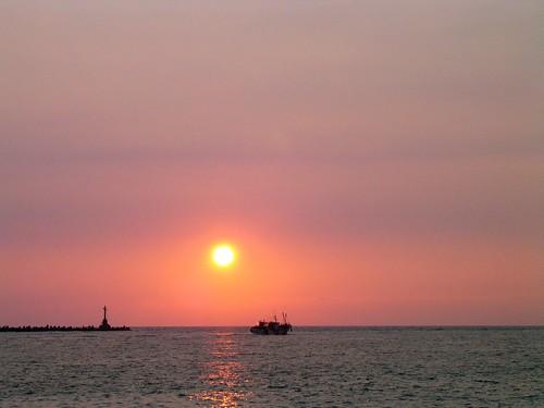 高雄西子灣夕陽