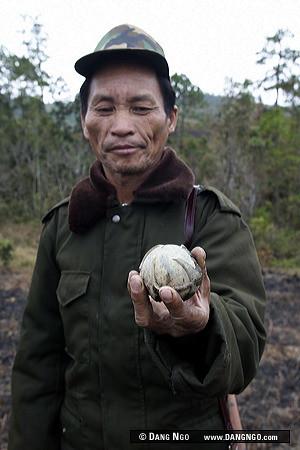 Phonsavan, Laos - General Gay Law, 62, a retired Pathet Lao general,