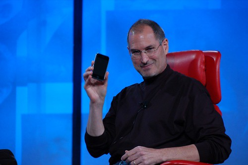 Steve Jobs iPhone en D: All Things Digital 2007