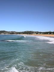North Avoca peak (best in large) ()x(Nato)x() Tags: sun beach water coast nikon waves australia coolpix p5000 northavoca