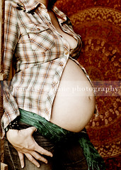 retro belly (Jeanette LeBlanc) Tags: orange baby vintage pregnancy hippy funky retro belly maternity 70s hendrix 1970s plaid jimihendrix tapestry abigfave