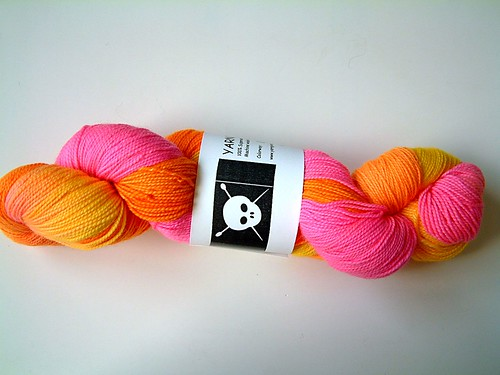 Yarn Pirate- Citron
