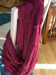 2000 Yds of handspun merino