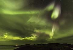A meteor in the Aurora (Nick L) Tags: aurora auroraborealis iceland icelandic meteor jökulsárlón jokulsarlon icelagoonatjokulsarlon icelagoonatjökulsárlón 1124l canonef1124f4l canon eos 5d 5d3