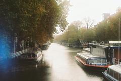 Untitled (DavidPato) Tags: film 35mm city amsterdam autumn river