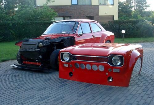 Avo Elme's Ford Escort