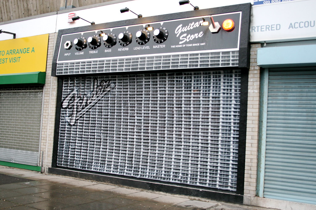 Best Guitar Store Front Ever | Probably One Of The Best Shop Front [PIC]