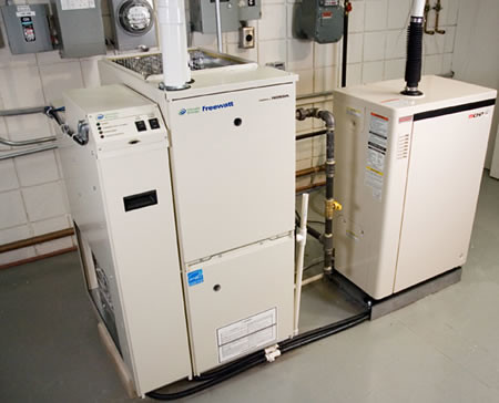 Micro-CHP Home Heating and Power System