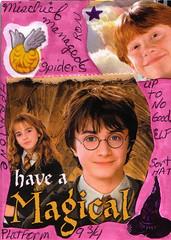 Harry Potter ATC