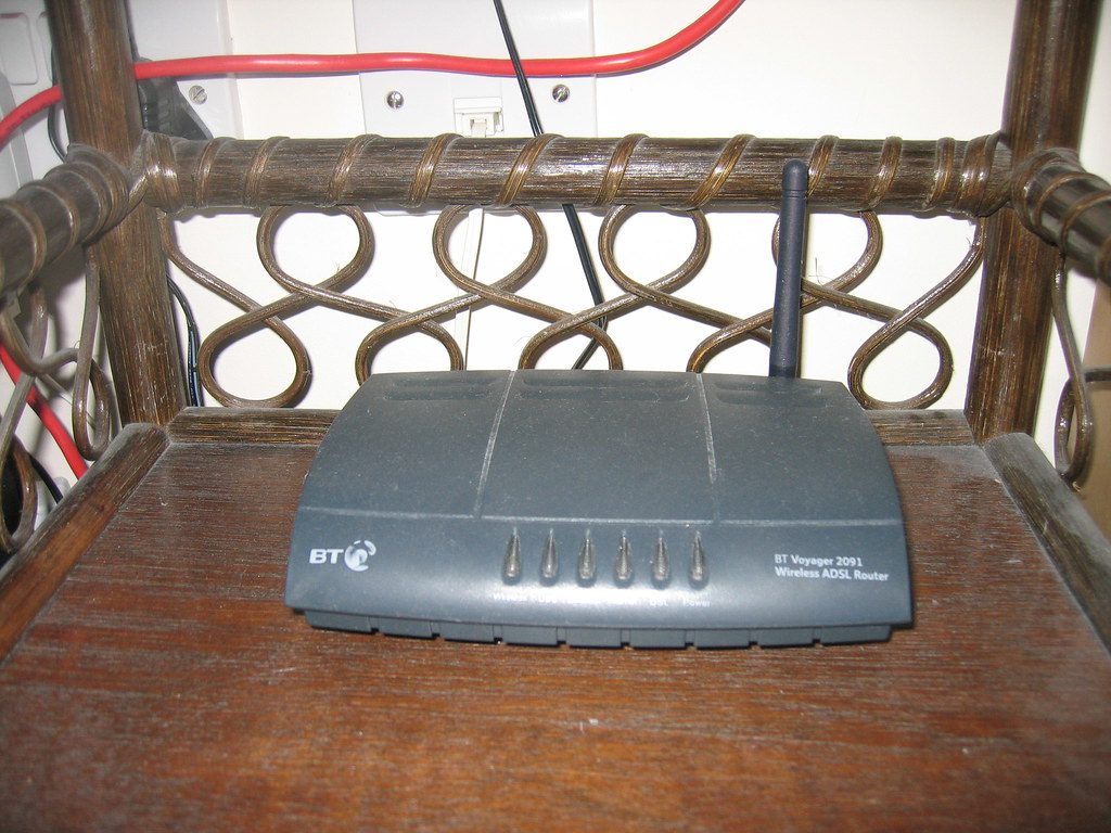 Our home wireless router