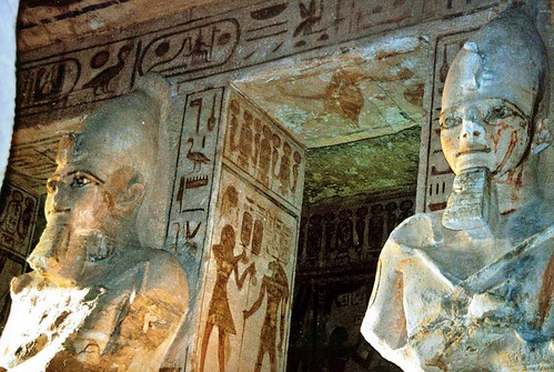 1998 Abu Simbel Tempel, interieur por Hans Ollermann.