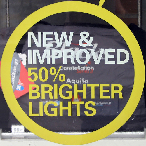 NEW & IMPROVED 50% BRIGHTER LIGHTS