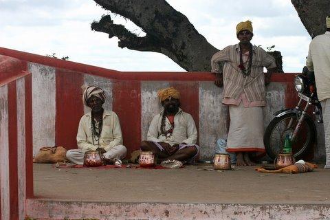 Mendicants at Gopalaswamy Temple Gopalaswamy Betta