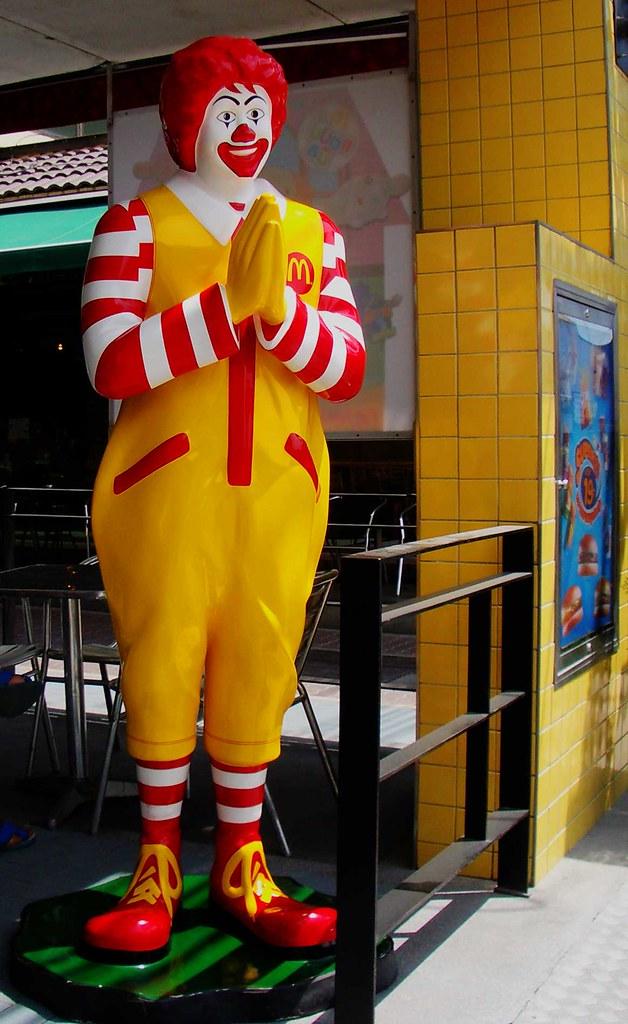 Ronald McDonald in Thailand